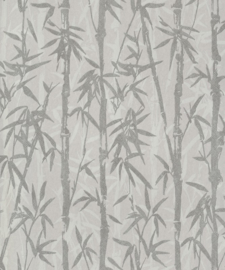 BN Wallcoverings/Voca Zen Behang 220323 Bamboo Garden/Bamboe/Takken/Bomen/Natuurlijk