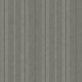 Dutch Wallcoverings Annuell Behang 11024 Strepen/Landelijk/Romantisch/Grijs