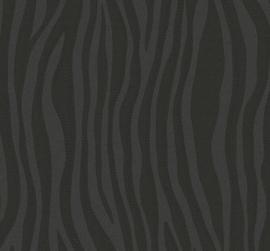 Marburg Casual 30401 Modern/Dieren/Zebra/Zwart Behang - Atwalls