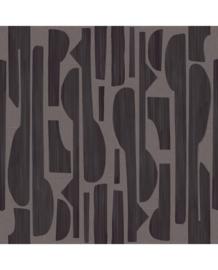 Eijffinger Bold Fotobehang 395896 Tapestry/Black Linen/Modern