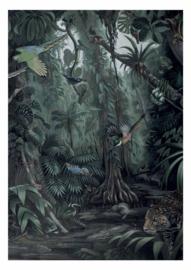 KEK Amsterdam II Fotobehang WP-600 Tropical Landscape/Landschap/Botanisch/Natuurlijk/Vogels Behang