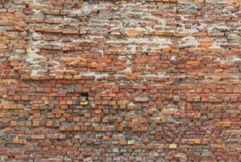 Komar Stories XXL4-025 Bricklane/Baksteen/Modern/Industrieel/Landelijk Fotobehang - Noordwand