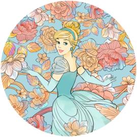 Komar Home Imagine Edition 4 Fotobehang DD1-003 Cinderella Pastel Dreams/Cirkel/Sprookjes/Disney