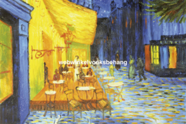 Dimex Fotobehang Cafe Terrace-Vincent van Gogh MS-5-0251 Schilderij/Kunst/Art