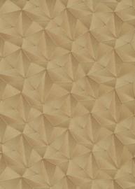 Behangexpresse Spotlight Behang 10106-30 Modern/Grafisch/3D/Goud