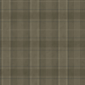 Dutch Wallcoverings Annuell Behang 11020 Ruiten/Engelse/Schotse Ruit/Landelijk/Klassiek