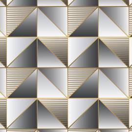 Rasch Galerie Geometrix Behang GX37628 Geometrisch/Modern/Vlakken