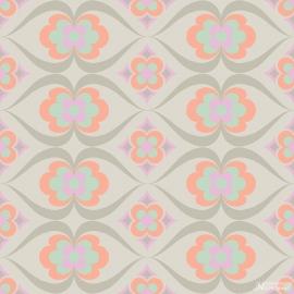 Noordwand Cozz Smile Behang 61167-04  Retro/Modern/60/70 jaren/Bloemen