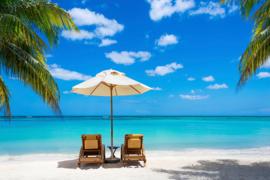 AS Creation Wallpaper 3 XXL Fotobehang 471689 Beach With Chairs/Strand met Stoel