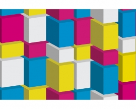 AS Creation APDigital2 Behang  470538 Boxes/Dozen/Blokken/Modern/3D Fotobehang