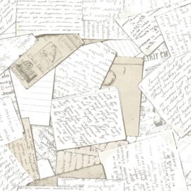 Noordwand #Hashtag Behang 11016 Tekst/Notities/Geschreven schrift/Papier