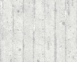 AS Creation Elements Behang 7137-11 Beton/Strepen/Modern/Landelijk