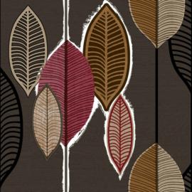 Noordwand Casa Mood Behang 27019 Modern/Bladeren/Retro/Natuurlijk
