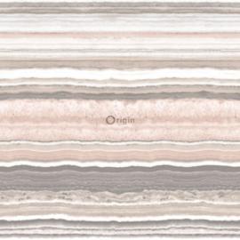 Origin Matieres-Stone Behang 349-337236 Marmer/Steen/Modern/Strepen/Natuurlijk
