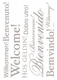 Sticker 19000 Welcome-Komar