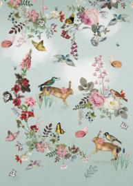 Behangexpresse Sofie & Junar Fotobehang INK7620 Vintage Fairytale/Botanisch/Dieren
