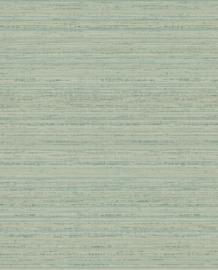 Eijffinger Sundari  Behang 375142 Natuurlijk/Wandweefsel Look/Groenblauw/Goud