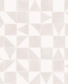 Eijffinger Mini Me Behang 399090 Scandinavisch/Grafisch/Geometrisch/Taupe/Kinderkamer