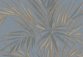 Hookedonwalls Tropical Blend Behang 33608 Kenzia/Botanisch/Bladeren/Natuurlijk