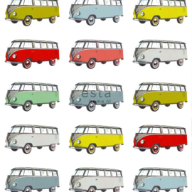 Esta XL Photowalls For Kids Behang 158713 Vintage Transporter/Auto's/Kinderkamer