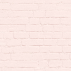 Esta Home Art Deco Behang 156-139191 Baksteen/Steen/Modern/Roze/Pastel/Landelijk/Modern