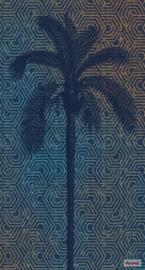 Komar/Noordwand Heritage Edition1 Fotobehang HX3-012 Silhouette/Palm/Grafisch/Modern Behang