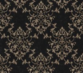 At Walls Odea Behang 46508 Barok/Ornament/Blaadjes/Klassiek/Landelijk/Rood/Goud