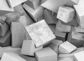 AS Creation Designwalls Fotobehang DD118734 Concrete Blocks 1/3D/Modern/Blokken/Illusions