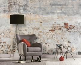 AS Creation Designwalls Fotobehang DD118764 Old Wall/Verweerde/Baksteen/Cement/Industrieel/Landelijk/Modern