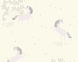 AS Creation Boys & Girls6 Behang 36989-2 Eenhoorn/Unicorn/Glitter/Kinderkamer