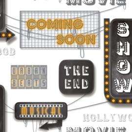 Noordwand #Hashtag Behang 11033 Metropolis/Urban/Modern/Hollywood/Movie