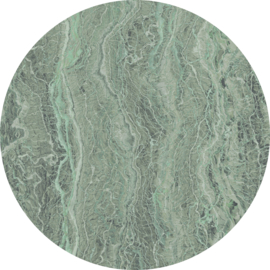 Komar Home Imagine Edition 4 Fotobehang D1-008 Green Marble/Marmer/Steen/CirkelModern