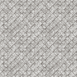 Noordwand Grunge Behang G45339 Vlechtwerk/Modern/Landelijk/Grijs