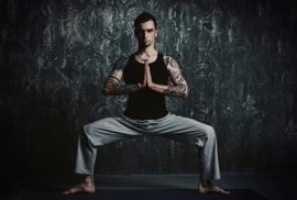 ASCreation Walls By Patel Fotobehang Chandra 1 DD113267 Yoga houding/Sport/Modern