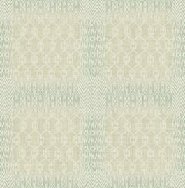 Dutch Maya First Class Behang EH72604 Bohemian Style/Vintage/Blokken