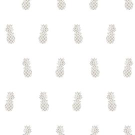 Noordwand #Hashtag Behang 11007 Ananas/Vrucht/Modern/Tropical