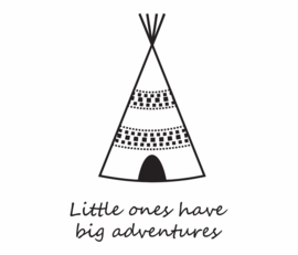 Noordwand Fabulous World Behang 8005b Little Ones/Tipi/Tent/Indianen/Kinderkamer Large Fotobehang