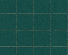 AS Creation New Elegance Behang 37551-1 Modern/Landelijk/Blokken