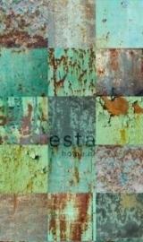 Esta Home Vintage Rules Behang . 158203 Panels/Fotobehang/Patchwork motief