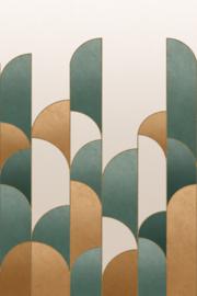 Rasch Salisbury Fotobehang 552171 Art Deco/Modern/Boog/Geometrisch
