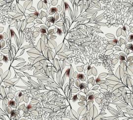AS Creation Geo Nordic Behang 37534-2 Botanisch/Bladeren/Natuurlijk
