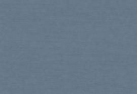 Hookedonwalls Tropical Blend Behang 33644 Indigo Silk/Uni/Jute Structuur/Landelijk/Natuurlijk/Modern