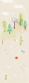 Behangexpresse Kate & Andy Fotobehang INK7453 Secret World/Uni/Dieren/Kinderkamer Behang