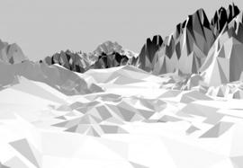 Komar Stories 8-208 Icefields/Bergen/IJs/Modern Fotobehang - Noordwand