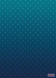 Komar/Noordwand Heritage Edition1 Fotobehang HX4-018 Silence/Bogen/Modern/Schelpen Behang