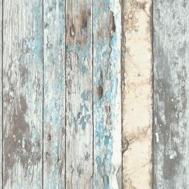 Dutch Wallcoverings Exposed Behang PE 10-01-2 Sloophout/Planken/Stoer Hout