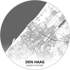 Noordwand Topchic 2021/2023 City Circles Behang Den Haag CC070/Steden/Plattegrond