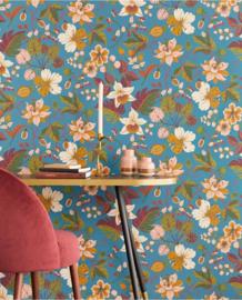 Eijffinger Carmen Behang 392502 Bloemen/Romantisch/Klassiek/Etnisch