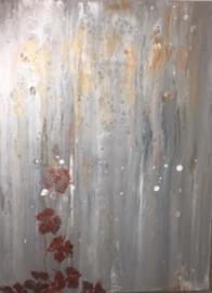 Schilderij 15/Kunst/Acryl/Falling Leaves 2/Fantasie/Natuurlijk/Bladeren
