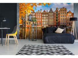 Dimex Fotobehang Houses in Amsterdam MS-5-0024 Huizen/Steden